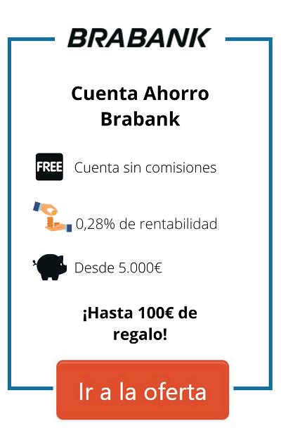 cuenta remunerada brabank